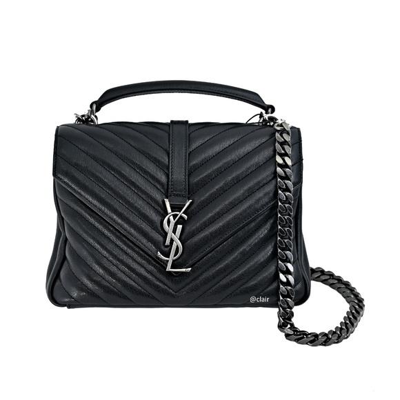 Saint Laurent Handbags - Saint Laurent College Medium Quilted Leather Bag